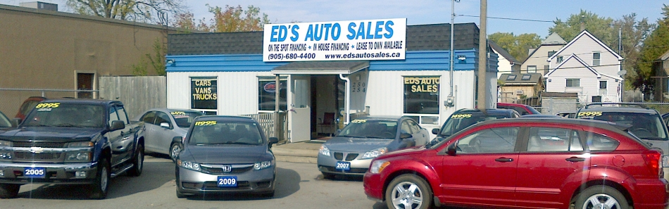a family owned and operated dealership serving niagara for over 20 years ed 39 s auto sales. Black Bedroom Furniture Sets. Home Design Ideas